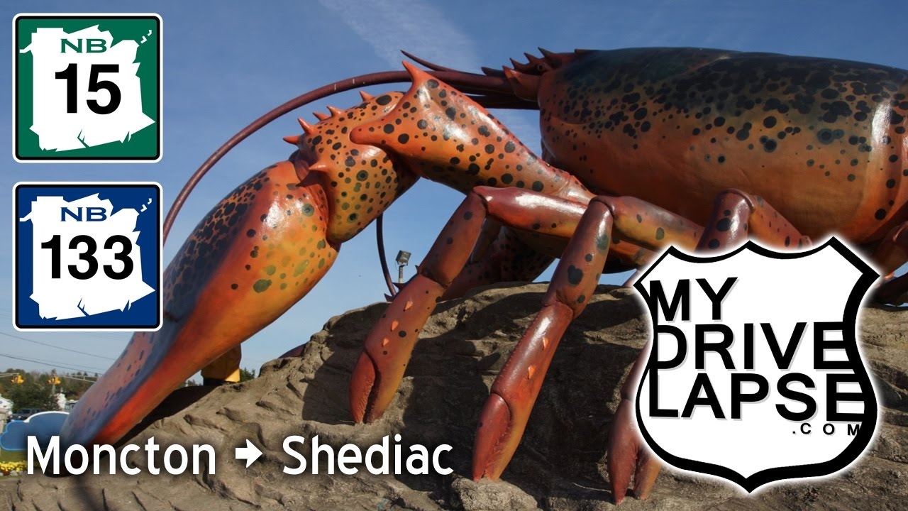 Drive from Moncton to Shediac (Home of the Big Lobster ...